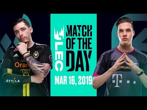 #LEC Match of the Day | Vitality vs SK Gaming | Saturday 16th