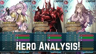 Ylissean Travelers Hero Analysis ft. ???! :D Walhart, Sumia, Maribelle & More! 【Fire Emblem Heroes】