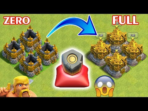 Full Gold in 1 second Clash of Clans | Clash of Clans New Update | COC New Update
