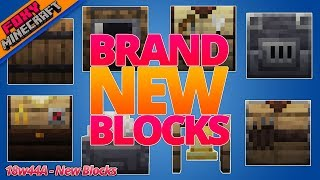 Minecraft | 10 NEW BLOCKS | 1.14 Pre-Release | Snapshot 18w44a
