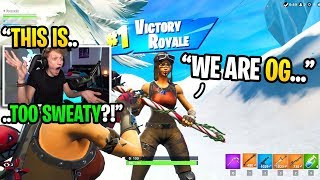 Gambar cover I played Fortnite on EUROPEAN servers and met another RENEGADE RAIDER... (super sweaty)