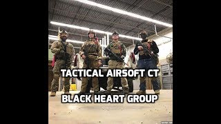 Black Heart Group | New Airsoft Team 2018 | Tactical Airsoft CT Day
