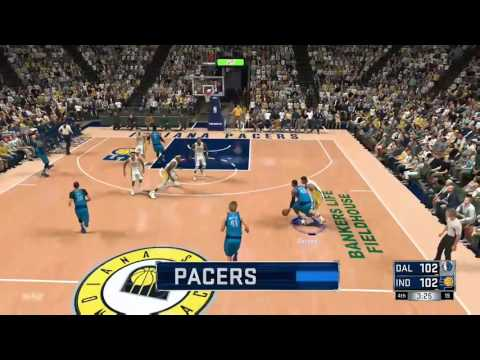 NBA 2K17 My League Dallas Mavericks vs Indiana Pacers Game 1 *COMEBACK*