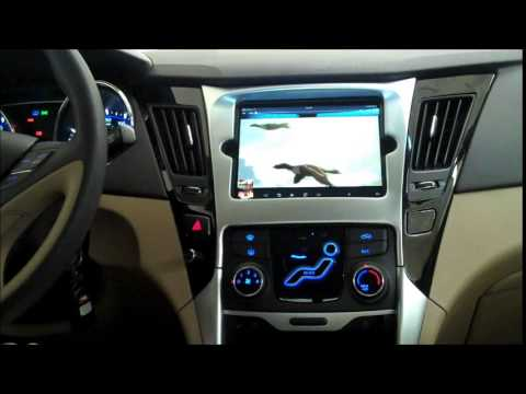 Custom Ipad Mini Install 2012 Hyundai Sonata By