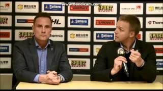 Roger Rönnberg och Bert Robertsson blir förbannade på varandra   Frölunda-Skellefteå SHL 2014/2015  