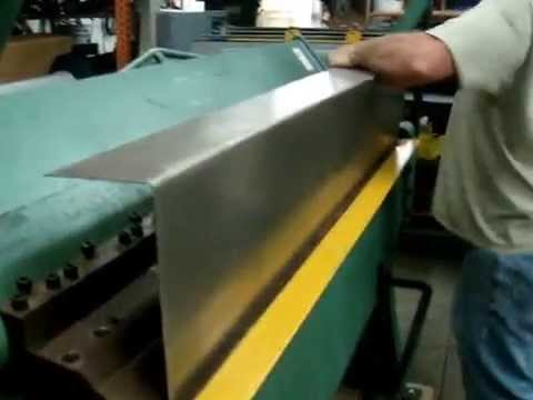 Sheet Metal Box & Pan Brake Item #1350