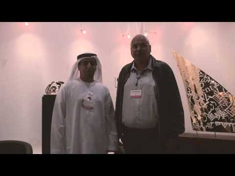 Dr. Hersh Chadha ARPS at World Art Dubai 2016