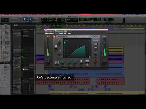 SSL Native X-ValveComp - Audio Examples