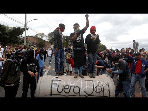 Honduras: President Hernández's Inauguration Rejected by Protesters
