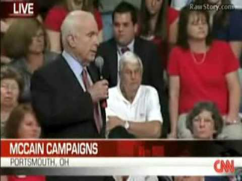 McCain Asked About PNAC (Project for a New American Century)