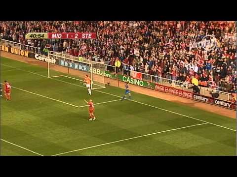 Middlesbrough 4 vs Steaua Bucharest 2 - 27/04/2006