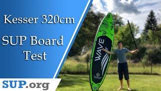 SUP Board für nur 260€!? | Kesser SUP Board Test | Deutsch