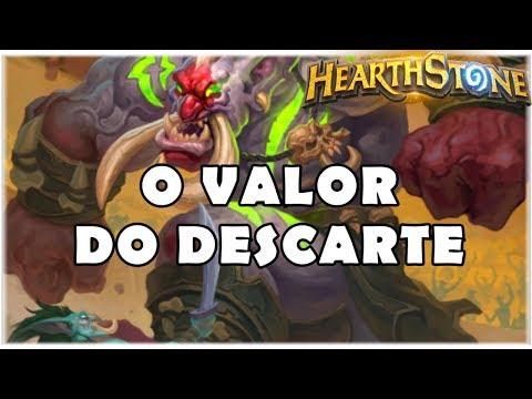 HEARTHSTONE - O VALOR DO DESCARTE! (STANDARD DISCARD WARLOCK)