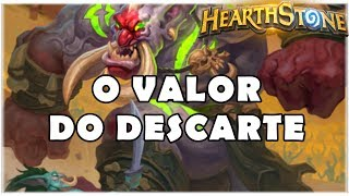 HEARTHSTONE - O VALOR DO DESCARTE! (STANDARD DISCARD WARLOCK)