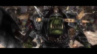 Warhammer: Mark of Chaos - Battle March (Orcs Campaign Cutscene 1)