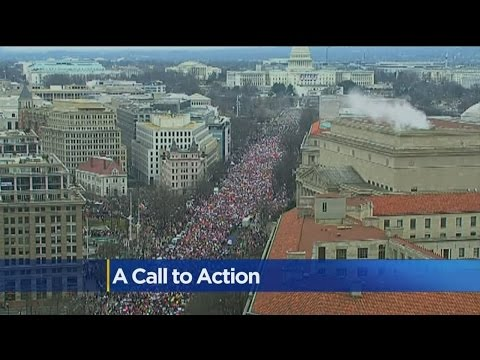 Millions March In Protest Around The World