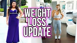 WEIGHT LOSS UPDATE!! I LOST 50LBS!