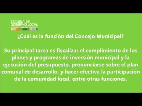 EGL - FUNCIONES DE LA MUNICIPALIDAD