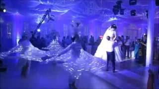 Очень красивый свадебный танец! Светящиеся АНГЕЛЫ и ПТИЦЫ СЧАСТЬЯ для танца молодых. 8928 2796705