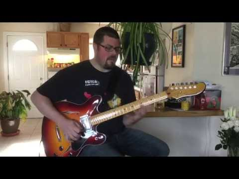 Fender Starcaster Reissue Demo