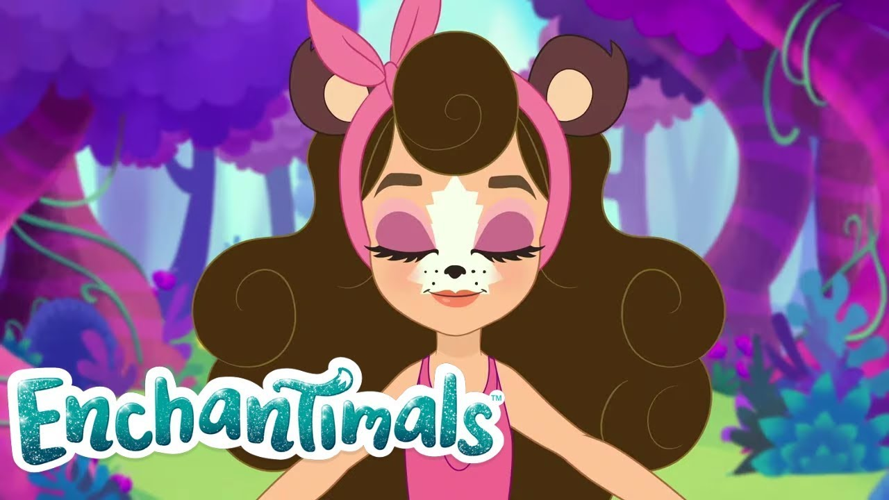 ¡Oso sonámbulo! | Enchantimals Inglés 💖Everwilde Tales | Dibujos animados para niños