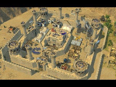 ЗАМОК(село) НУБА ❗ Stronghold Crusader 2
