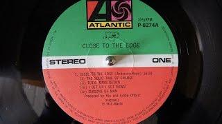 Yes - Close to the edge (1972 / vinyl rip / LP / full album)