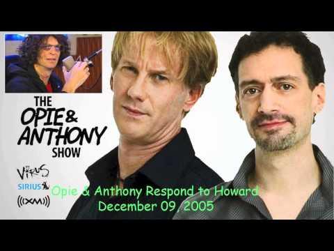 Opie & Anthony - Responding to Howard Stern's Satellite Radio Story ft. Patrice O'Neal (12.09.2005)