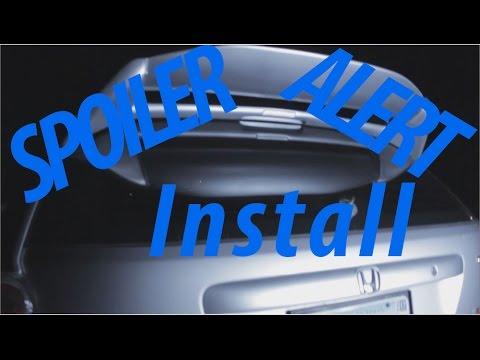 Honda Civic Si Spoiler Install EP3