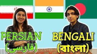 Similarities Between Bengali and Persian