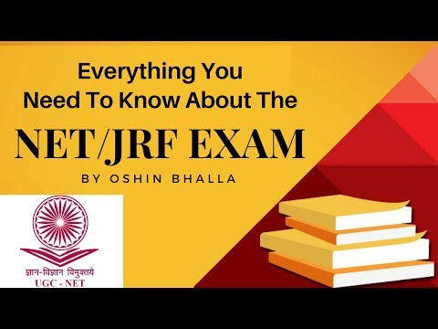 Learn All About The NET/JRF Exam By Oshin Bhalla