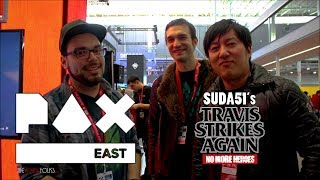 PAX East 2018 | Suda51 須田 剛 Interview - No More Heroes Travis Strikes Again on Nintendo Switch