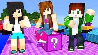 Minecraft Lucky Block - COMPETIÇÃO EM FAMÍLIA
