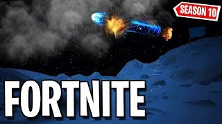 Fortnite Season 10 Leaked - Space event