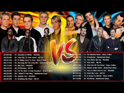 Westlife, Michael Learns to Rock, Backstreet Boys,Boyz II Men Greatest Hits Love Songs 80's 90's