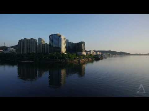 Qiandao Lake Aerial footage