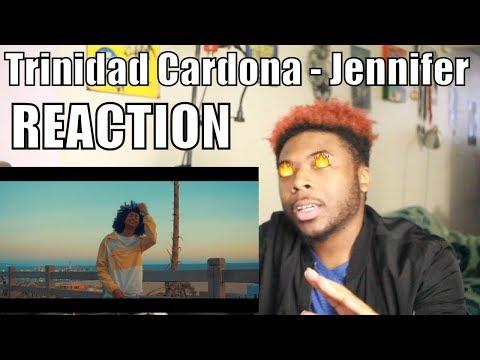 Trinidad Cardona - Jennifer OFFICIAL VIDEO (Official Video + Lyrics) First REACTION / REVIEW