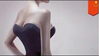 Implan payudara wanita pindah ke punggungnya - Tomonews
