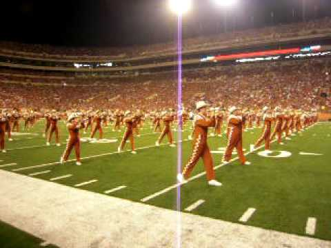 Longhorn Band Halftime Show at Texas Tech/UT Game 2009 ...