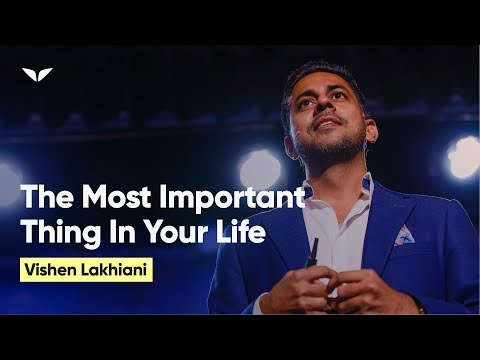 The Most Important Thing In Life - A Revelation From My Yoda | Vishen Lakhiani