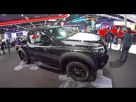 New 2018 Pickup Nissan Navara 2019 Black Edition - YouTube