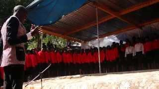 kuitira mwari kwechokwadi holy cross budiriro parish choir on stage at murambinda