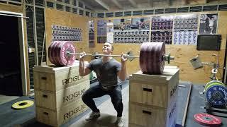 Ian Wilson 227kg/500lb Jerk