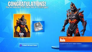 How To UNLOCK RUIN Skin as EARLY as possible In Fortnite! (Season 8)