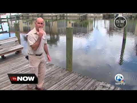 Citizens sick of algae speak with Senator Bill Nelson