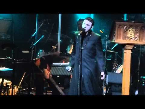 """Marc Almond Tyburn Tree """"The Labyrinth of Limehouse"""" Cambridge Corn Exchange March 4th 2014"""