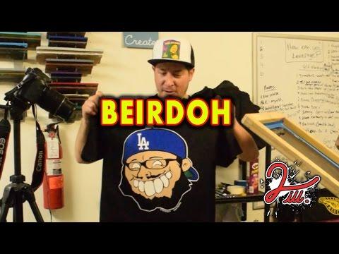 Learn How To Screen Print - Beirdoh