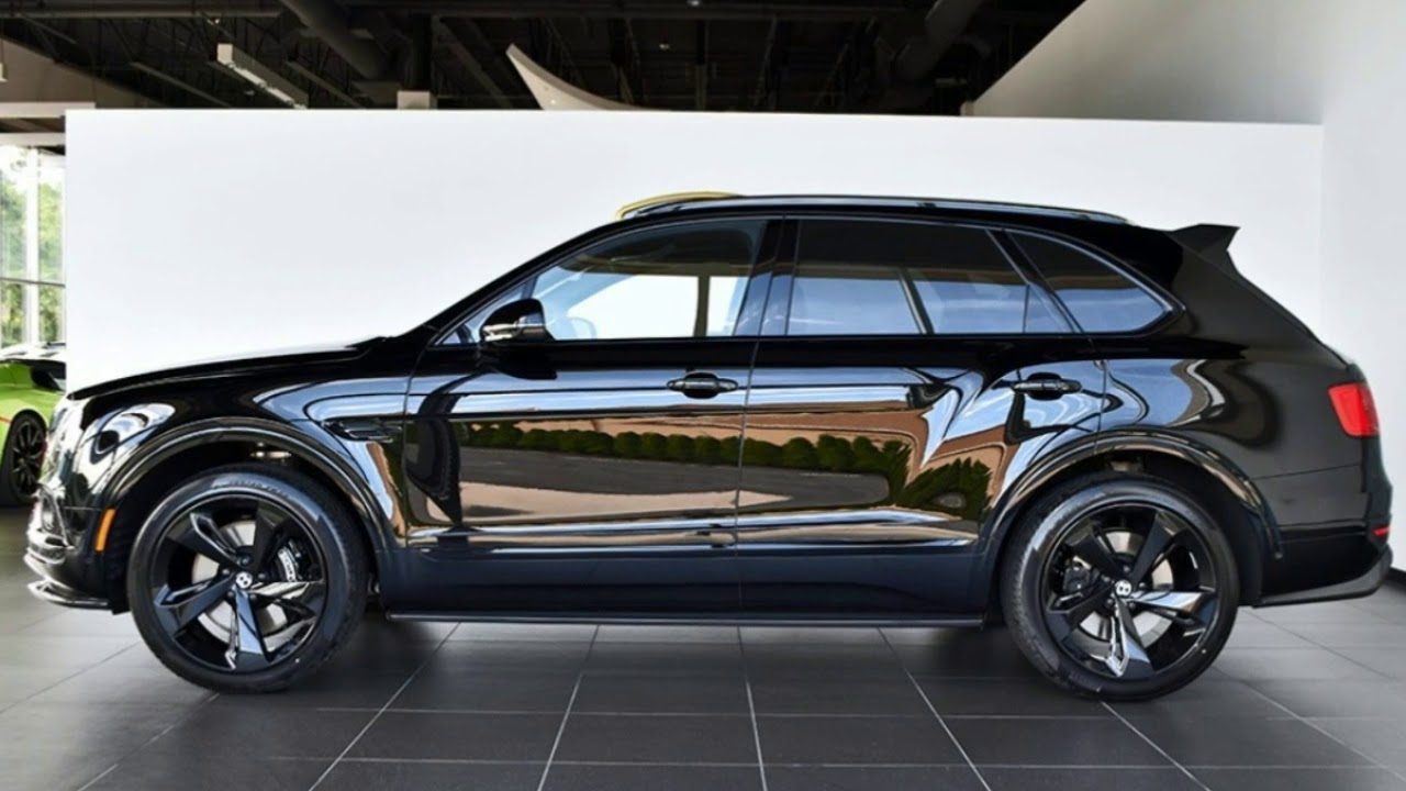 [HOT NEW] 2018 Bentley Bentayga Black Edition