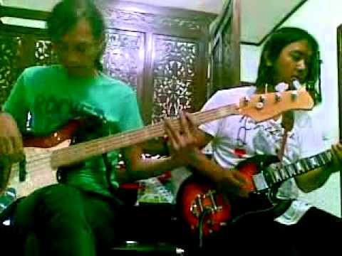 "The Rolling Stones - Honky Tonk Woman - Bass & Guitar Cover : Tepay & Beaz "" Anak Mamih """