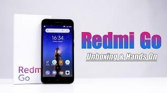 Mở hộp smartphone Android Go đầu tiên của Xiaomi